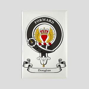 Badge-Douglas [Dumfries] Rectangle Magnet